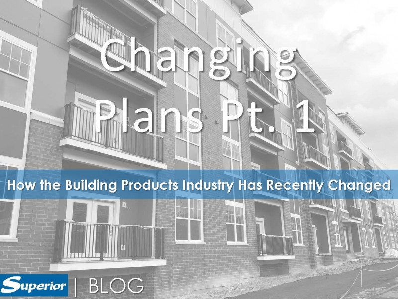 How the building products industry has recentley changed due to Covid-19