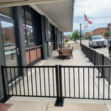 Ready Railing creates outdoor dining area at local brewery