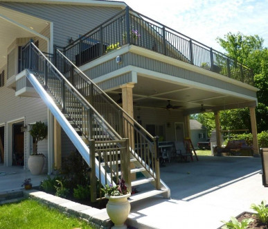 Deck and Patio Railing