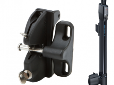 A lokk latch and a magna latch for Superior Aluminum gates